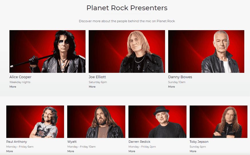 Planet Rock Radio