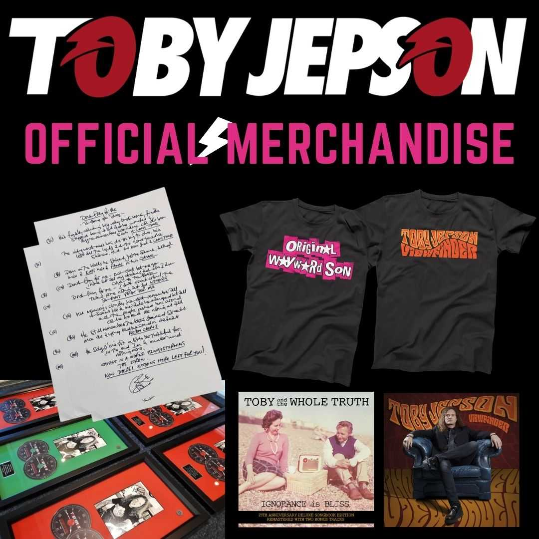 Toby Jepson_Official Merchandise